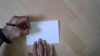 Turtorial: Briefumschlag richtig beschriften - Brief beschriften - Umschlag richtig beschriften