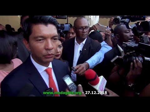 Andry Rajoelina Interview CENI 27 décembre 2018