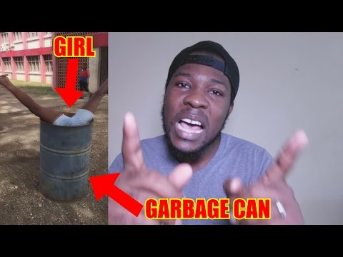 Guess How Much She Got Paid To Dive In The Trash!