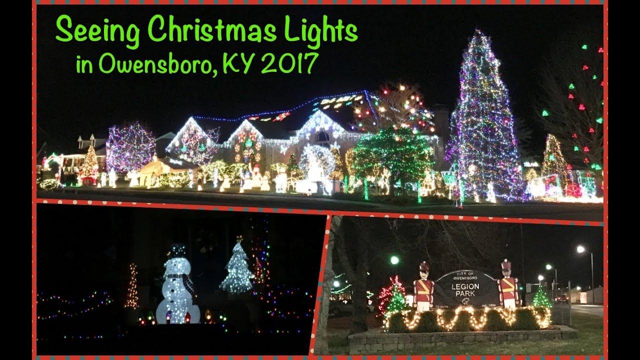 Owensboro, Ky Christmas Lights 2021 Christmas Lights 2017 Owensboro Ky Youtube