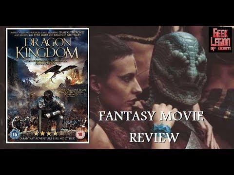 DRAGON KINGDOM ( 2019 Ross O'Hennessy )aka THE DARK KINGDOM Fantasy Movie Review