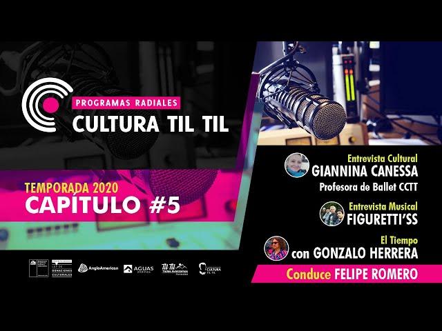 Programas Radiales Cultura Til Til (capitulo 5 ) 29/06/2020