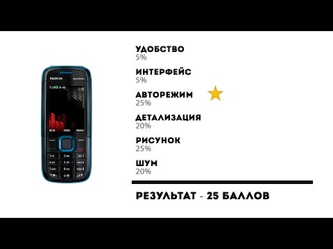 Тест камеры Nokia 5130 XpressMusic