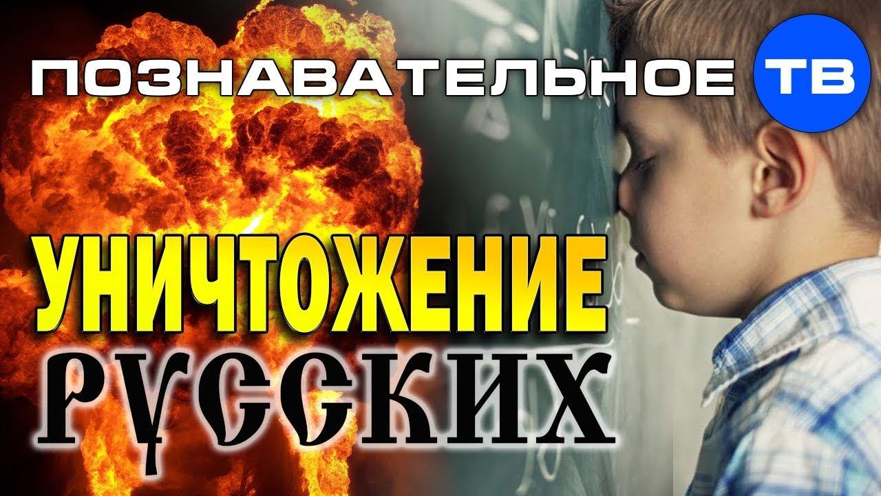 Уничтожение русских школьным образованием