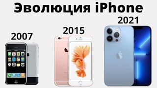 Эволюция iPhone — от 2G до iPhone 13 Pro Max