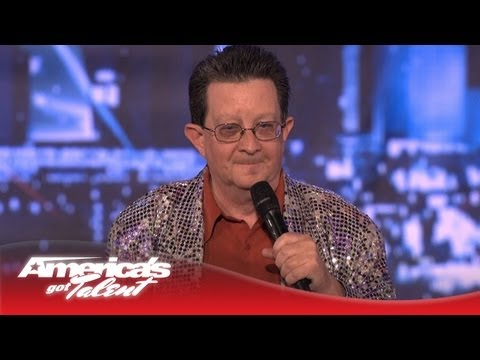 Perry Kurtz - Rap Song by 62-Year-Old Ex Male Stripper - America's Got Talent 2013