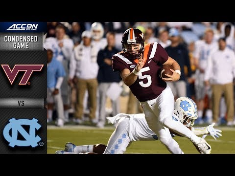 Virginia Tech vs. North Carolina Condensed Game (2018)