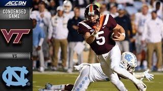 Virginia Tech vs. North Carolina Condensed Game (2018)