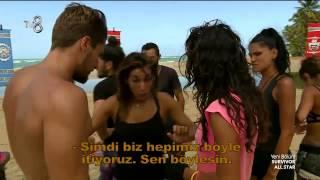 Survivor All Star - Turabi ve Begüm'ün 'Pislik' Kavgası! (6.Sezon 13.Bölüm)