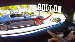 Stock 2019 Mustang GT surprises modified 2017 Mustang GT...