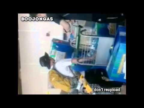 160314 Kangin e Hyuk no Aeroporto de Manaus (2)