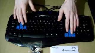 Tastatura E-BLUE Cobra Combatant-X Pro Gaming