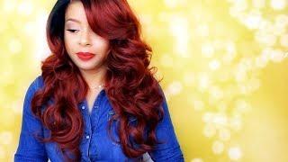 $20 Fall Weekender! Sensationnel Empress Lace Parting Wig AURORA | T1B/350 | GirlRatesWorld