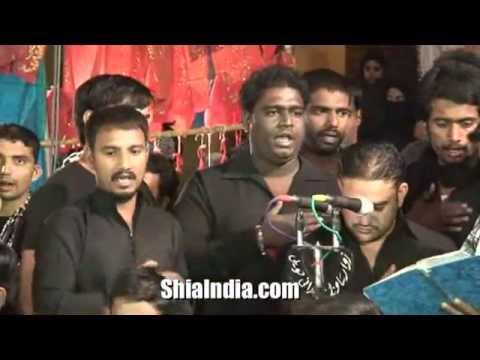 Anjuman e Saqq e Haram Matam at Musheerabad 1434 2012 SD