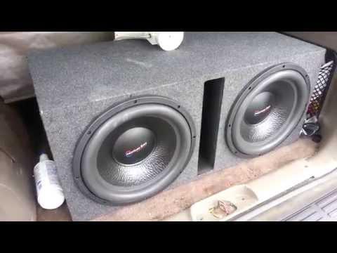 2 American Bass TNT 15s DEMO
