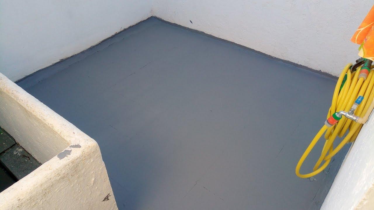 Como impermeabilizar una terraza exterior youtube - Como reformar una terraza ...