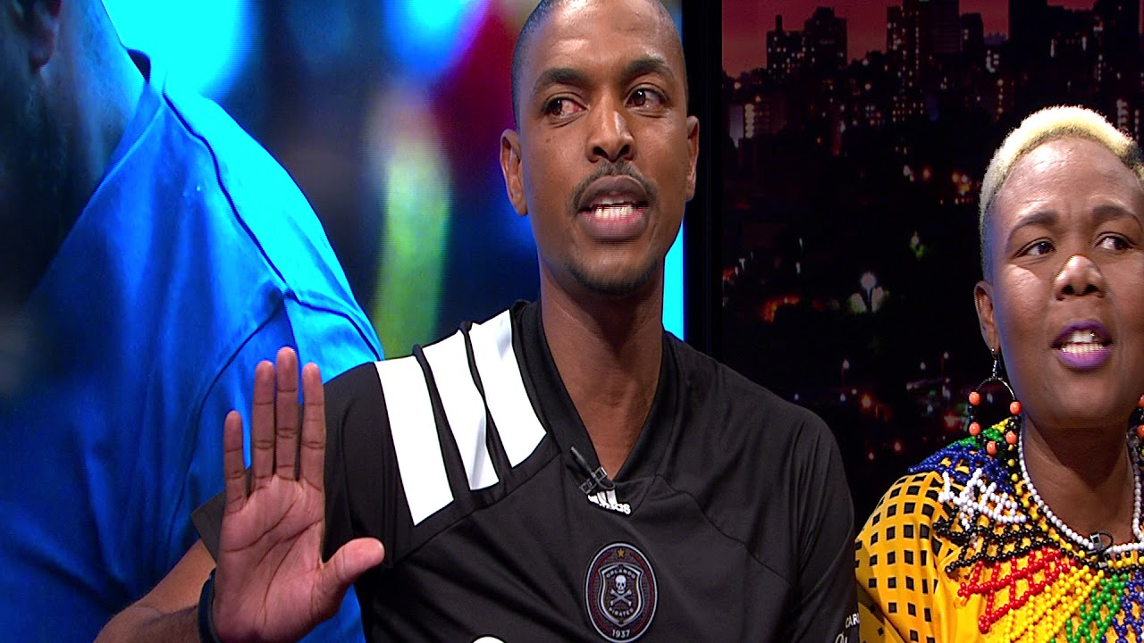 Thomas Mlambo, host of sport @ 10 chats to Pirates and Chiefs supporters