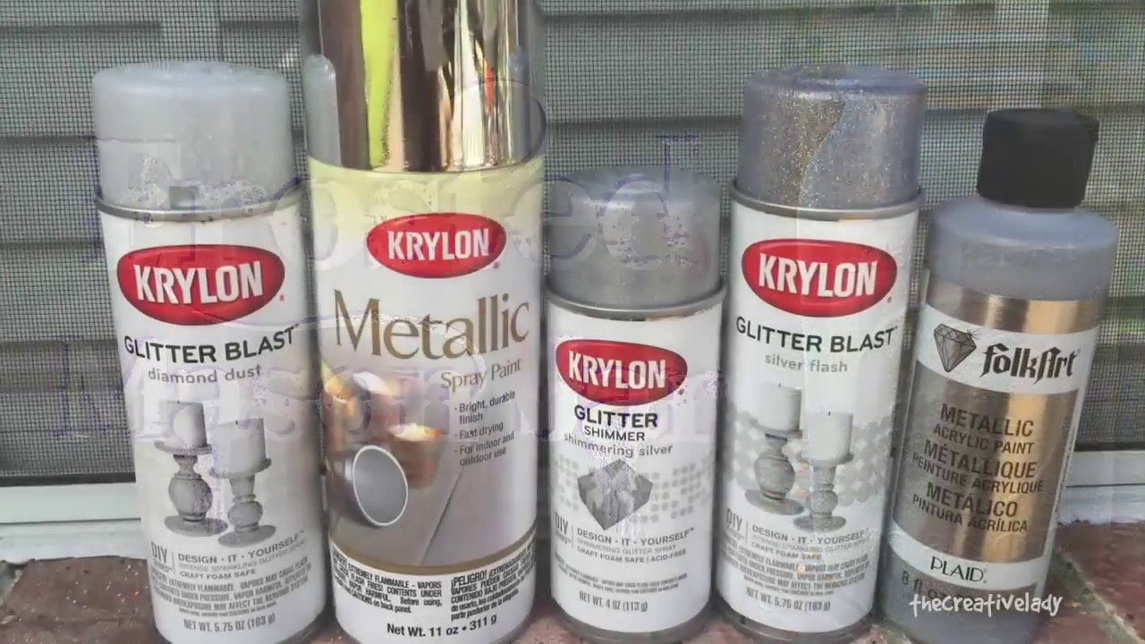 Diy Frosted Mason Jar Using Krylon Glitter Blast Spray Paint