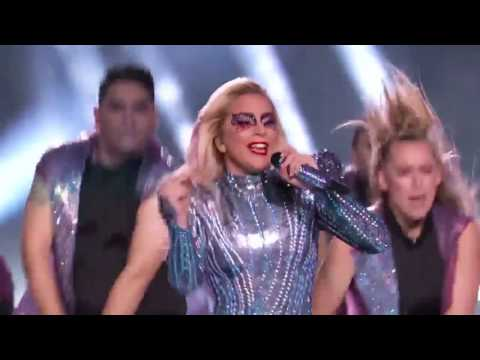 Lady Gaga - Born This Way (Live At SuperBowl HalfTime Show 2017)