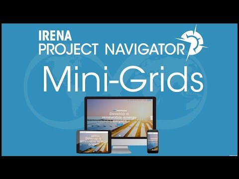 IRENA Project Navigator Webinar: Renewable Energy Mini-Grids