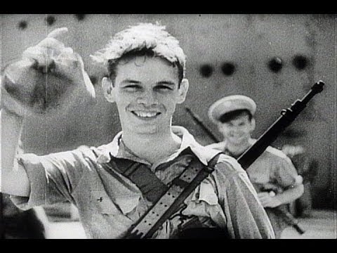 HD Historic Archival Stock Footage WWII - U.S. Troops Land In India 1942