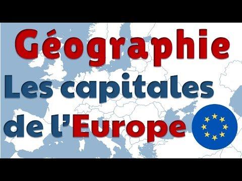 Les Capitales Des Pays D'Europe