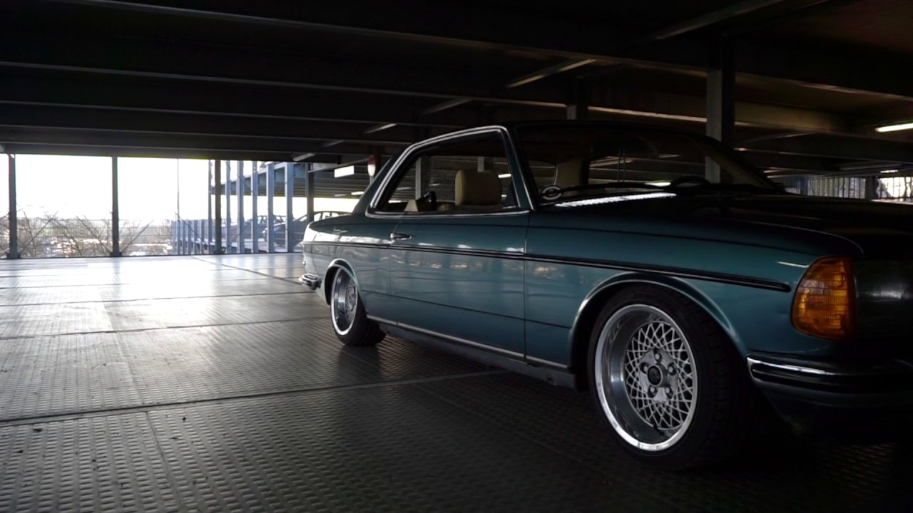 Mercedes W123 Airride 230ce Benz Deep Carporn Air Youtube