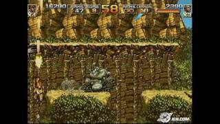Metal Slug 4 & 5 PlayStation 2 Gameplay - Metal Slug 5