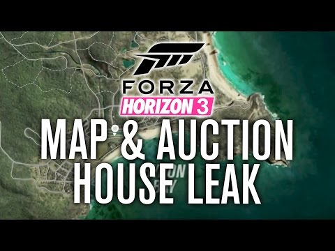 Forza Horizon 3 LEAKED Gameplay | AUCTION HOUSE, MAP, STOREFRONT, HOLDEN & MORE!