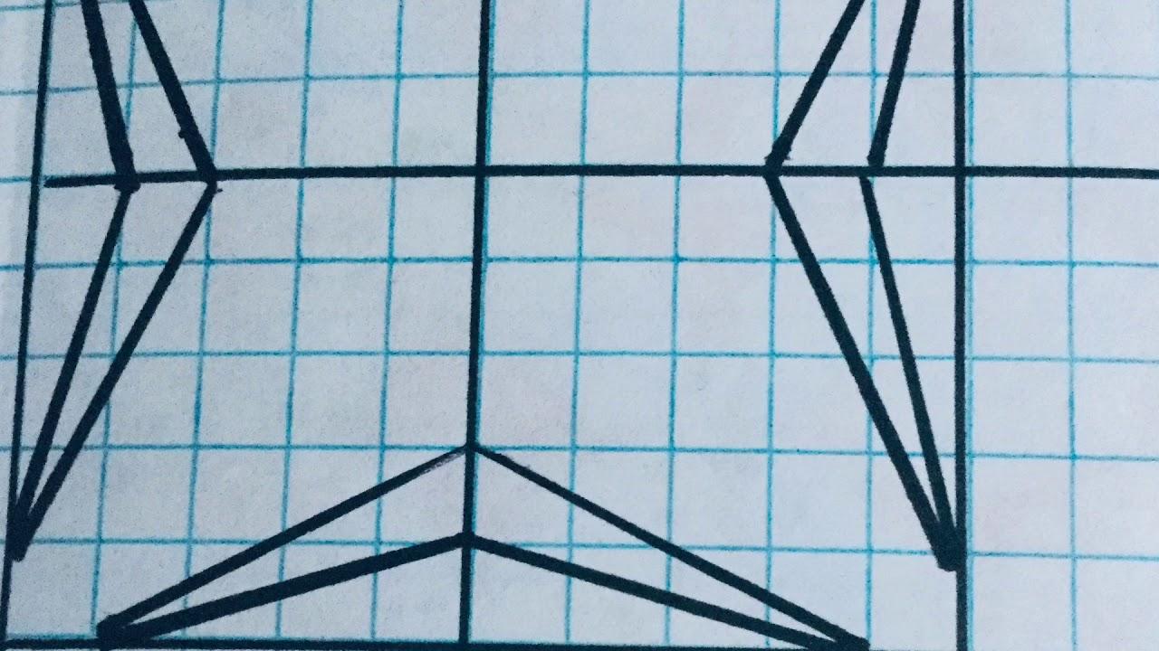 رسم زخرفة بسيطة