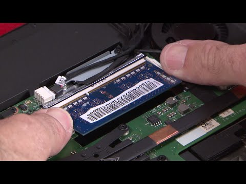 ThinkPad T440, T440s, T450, T450s - Memory Module Replacement
