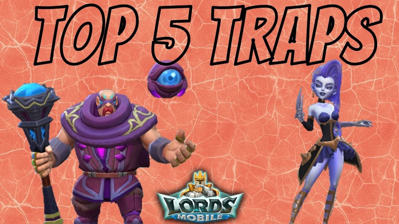 Top 5 traps of the week! Massive titan attack incoming!!! Lords mobile community video.