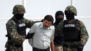 """60 Minutes"" goes inside the arrest of drug lord ""El Chapo"""