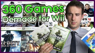 The Wii Ports Of Xbox 360 Games