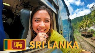 Scenic Train Ride from Kandy in SRI LANKA [Ep. 14]