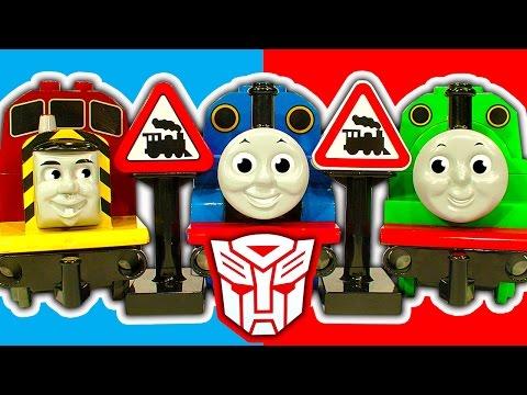 Lego Duplo Thomas Percy Gordon James Cranky Transformer Trains & Rescue