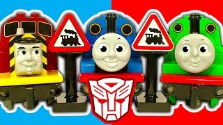 Lego Duplo Thomas Percy Gordon James Cranky Transformer Trains & Rescue thumbnail
