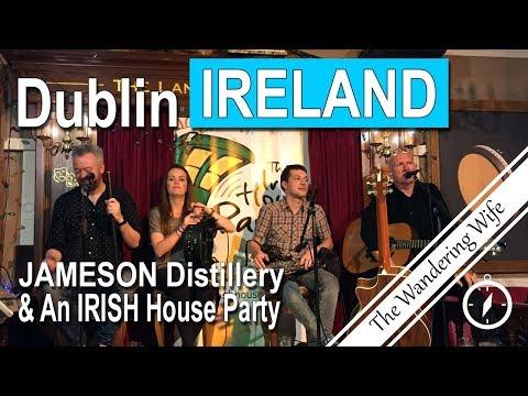 IRELAND: Whiskey & an Irish House Party! | TRAVEL VLOG 0047