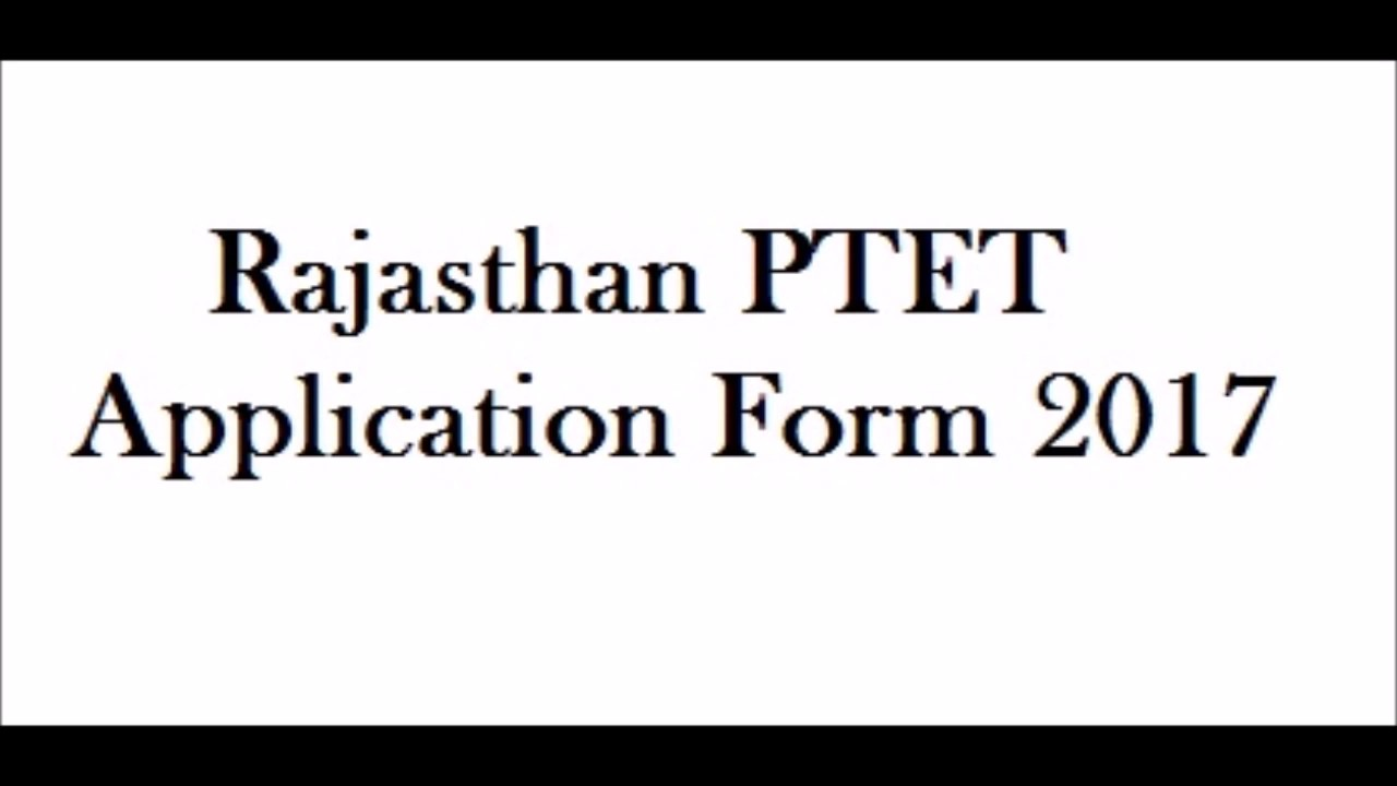 maxresdefault Online B Ed Form Rajasthan on pennsylvania state tax, income tax,