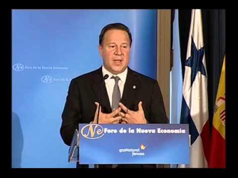 Foro de la Nueva Economía con Juan Carlos Varela