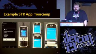 DEF CON 21 - Karl Koscher and Eric Butler - The Secret Life of SIM Cards