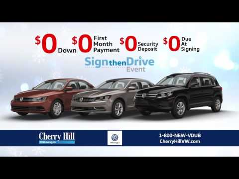 Cherry Hill Volkswagen - December 2016 Holiday Lease Specials