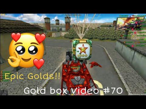 Tanki Online Gold Box Video #70 [iron Days]