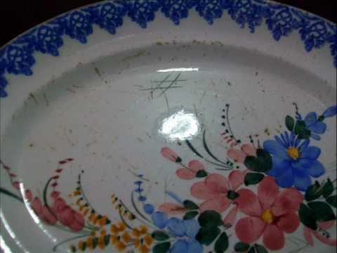 Come Si Ripara Un Lavandino In Ceramica.Come Restaurare La Ceramica Stefania Manca Wmv Youtube
