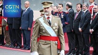 España celebra el día de la Fiesta Nacional con el desfile de las Fuerzas Armadas
