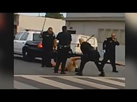 youtube viral video shows long beach police beating suspect youtube. Black Bedroom Furniture Sets. Home Design Ideas