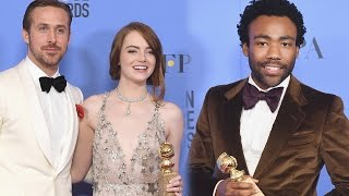 2017 Golden Globes Winners Recap