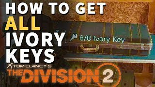 How to Get All 8 Ivory Keys Division 2