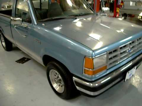 1991 ford ranger xlt start up test drive youtube. Black Bedroom Furniture Sets. Home Design Ideas