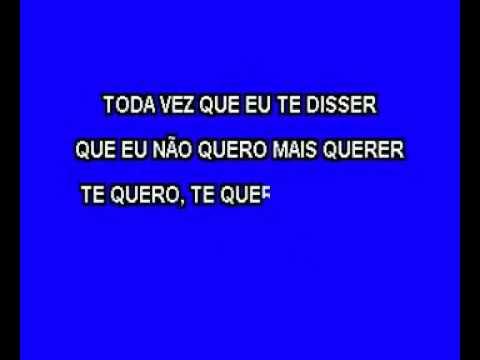 Robinson Monteiro   Pra Sempre Vou Te Amar karaoke)